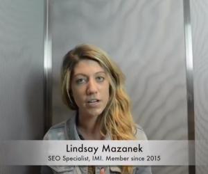 LVIMA Member Spotlight: Lindsay Mazanek